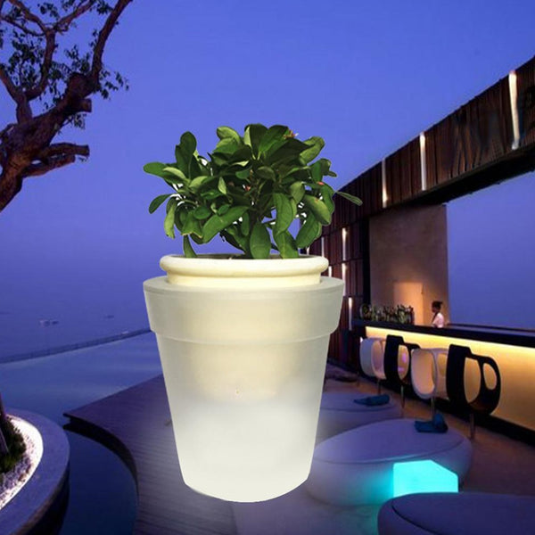 Solar Power Light Pot