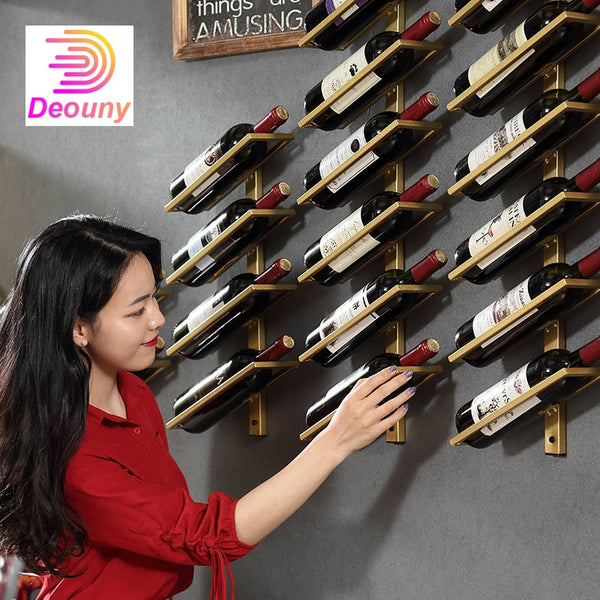 DEOUNY Wine Wall Rack