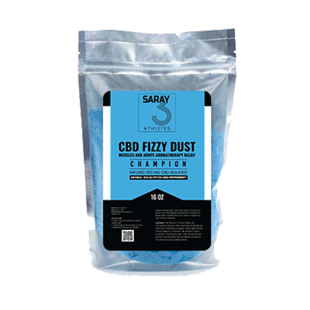 Champion<br>Fizzy Dust Bath Infused<br>250 mg 160z