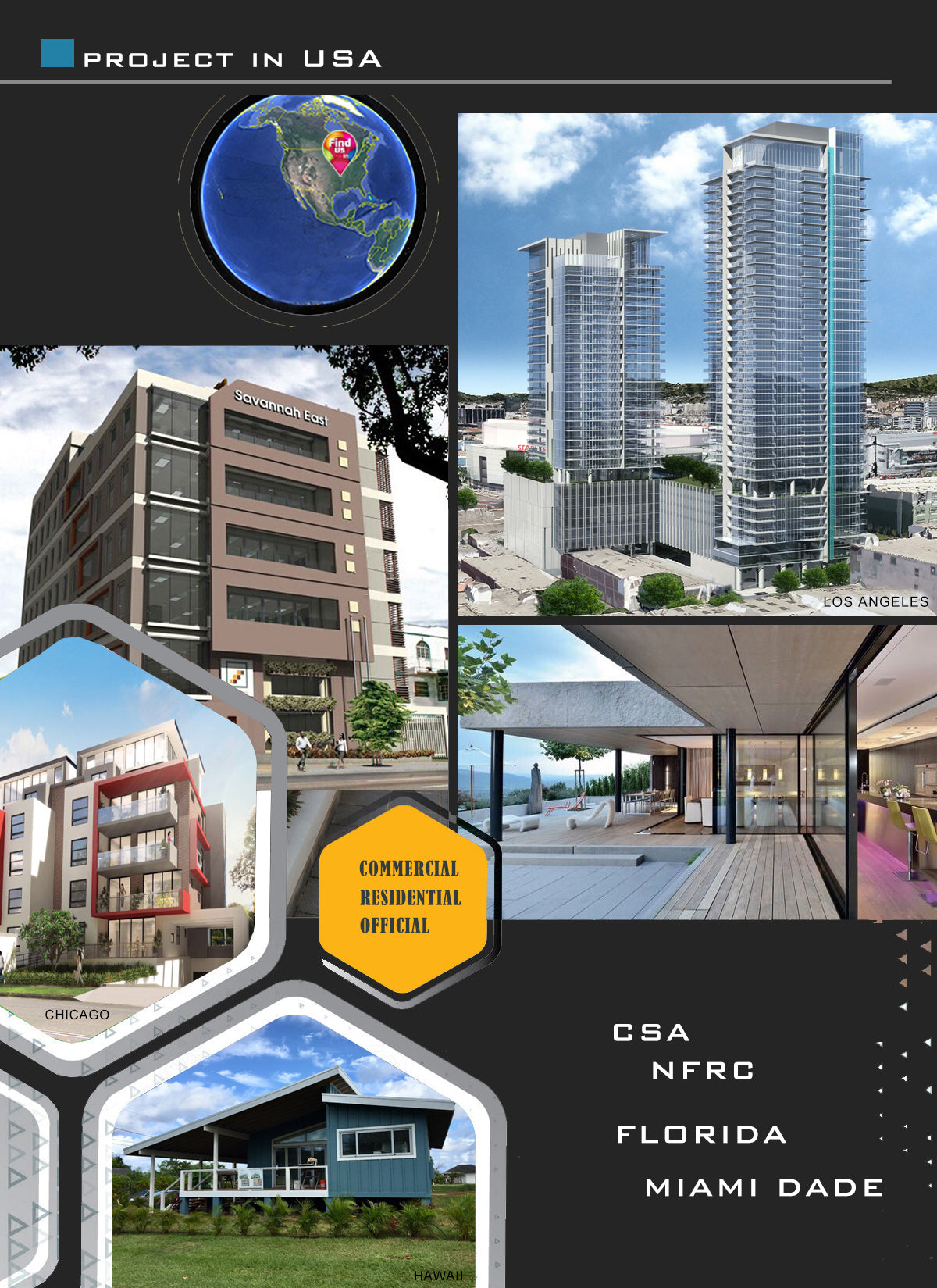 Superhouse Projects in USA Canada