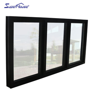 Superhouse 2021sound insulation aluminium frame insulated glass fixed window