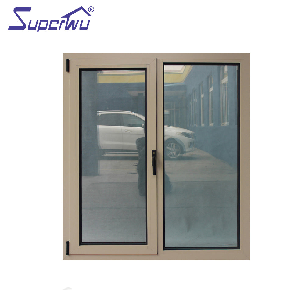 Superwu 2021Australia standard aluminum windows and doors aluminium tilt and turn windows wholesale