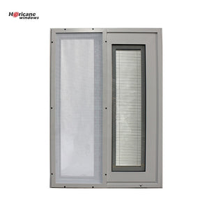 Superhouse 2021Aluminium Sliding Glass Windows with Blinds Bulit- in