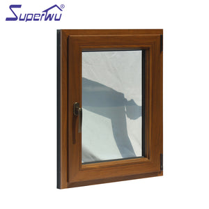Superwu 2021impact proof laminated glass open outside tilt & turn window
