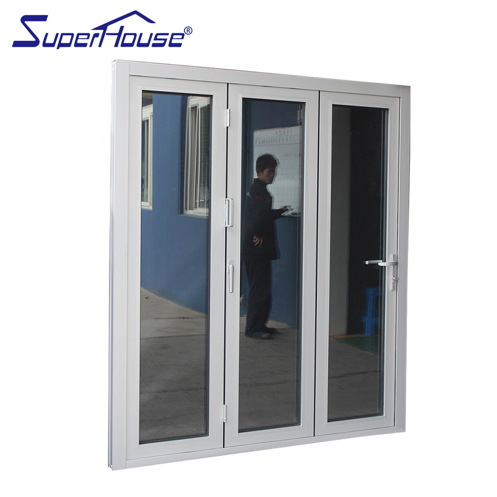 Superhouse 2021Hot sales Euro folding door system accordion folding door for restaurant
