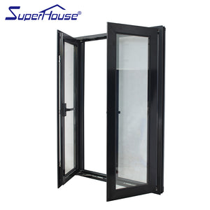 Superhouse 2021Custom Color And Size Windproof Thermal-break Heat Insulated Aluminum Casement Window