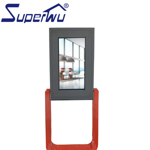 Superwu 2021Orders shipped directly Energy saving Aluminium double glass casement window with superhouse System