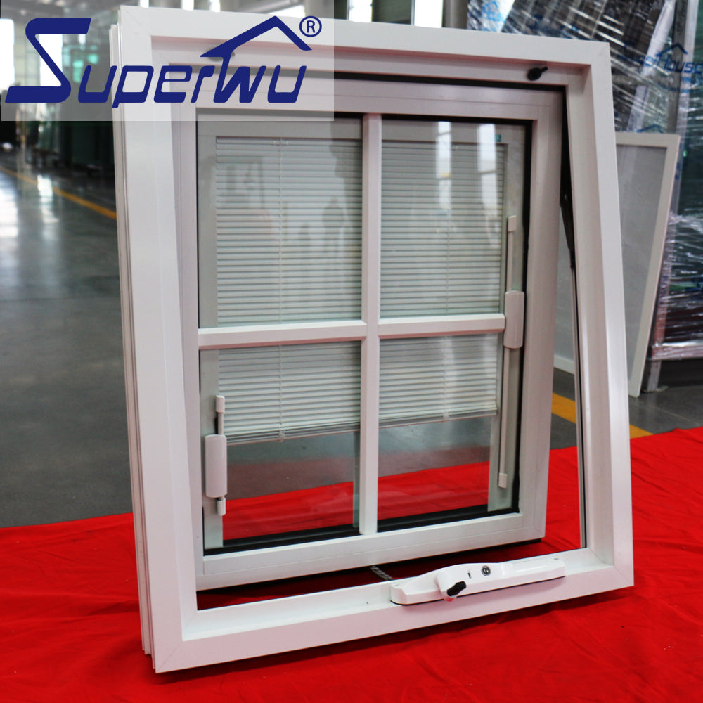 Superwu 2021Luxury aluminium double open outside casement windows
