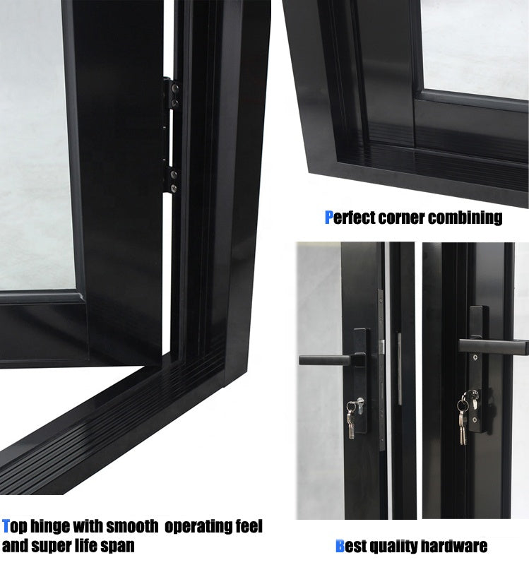 Superhouse 2021Miami Approved hurricane impact casement doors