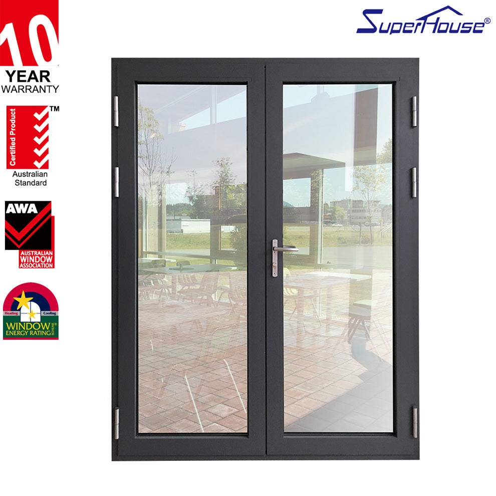 Superhouse 2021Luxury container house use aluminum glass hinged door