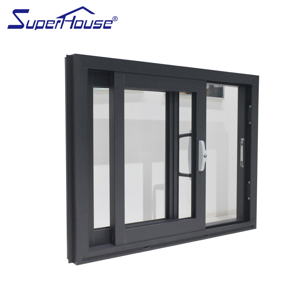 Superwu 2021Sound insulation exterior aluminum factory supply sliding door sample