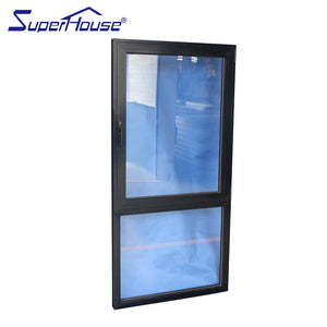 Superwu 2021Australia standard tilt and turn windows with fixed window factory supply