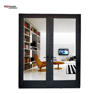 Superhouse 2021Modern Residential Large Aluminum Double Hinged Patio Doors