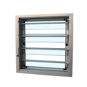 Superhouse 2021Aluminum glass louver with security protection