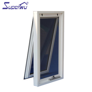 Superwu 2021Florida approve Certified Products Thermal break aluminum awning window