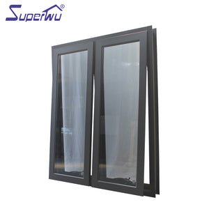 Superwu 2021Aluminium windows laminated glass awning window acoustic windows
