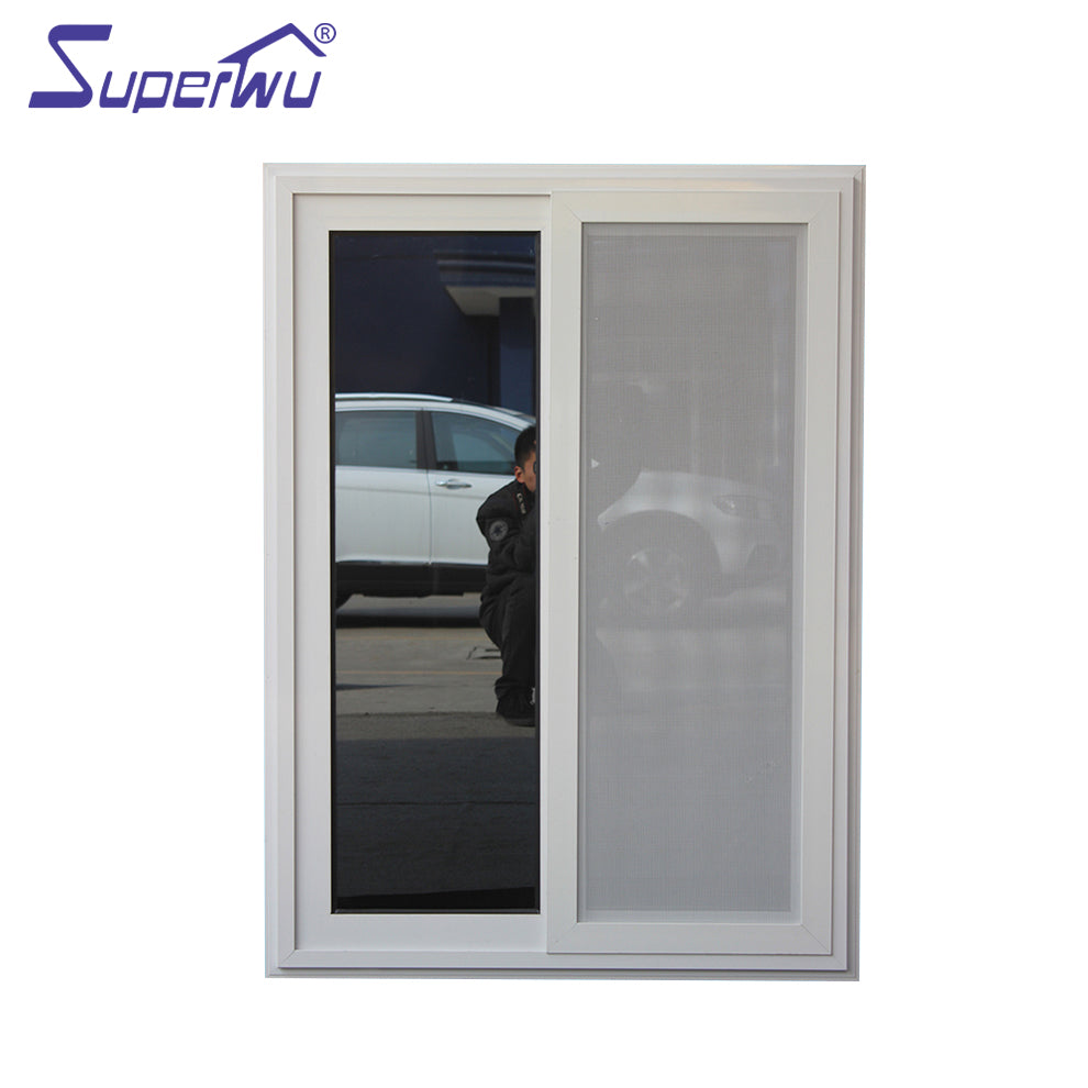 Superwu 2021Australia standard aluminum sliding window high qualtity