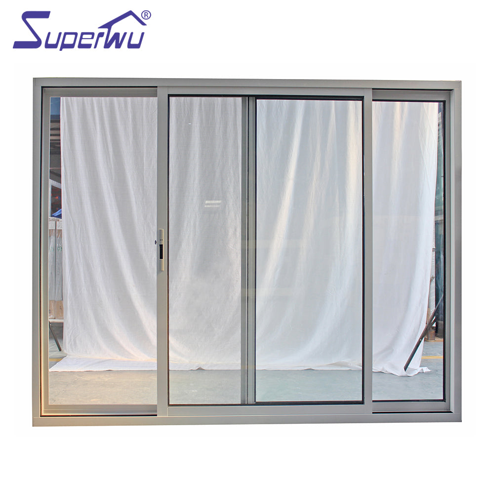 Superwu 2021China supplier Factory price aluminum profile sliding windows for hotel