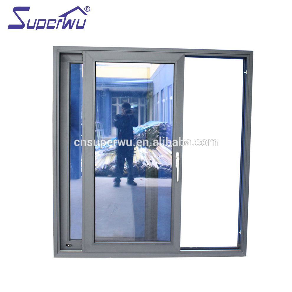 Superwu 2021The newest half glass sliding door french restaurant entrance doors