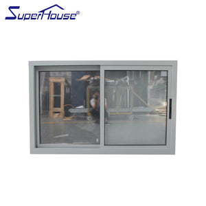 Suerhouse 2021Miami-Dade County Approved Hurricane Certification sliding glass reception window in china