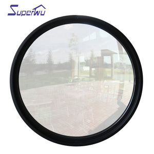 Superwu 2021Impact resistance hurricane proof arch fixed round window