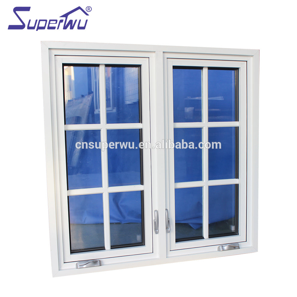 Superwu 2021Florida product approval Double glazed aluminium french windows designs lowes window grids