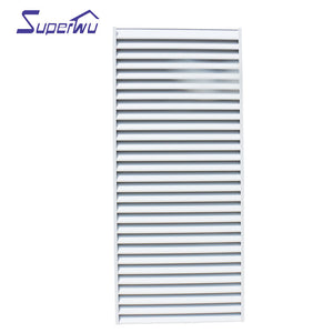 Superwu 2021Most popular Aluminum Fixed Louver window for house