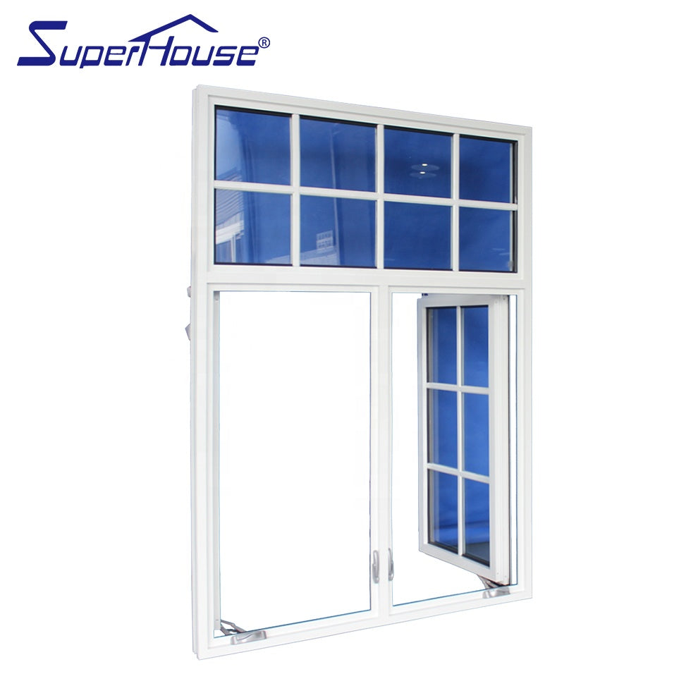 Superhouse 2021USA Canada market popular crank casement window for villa house