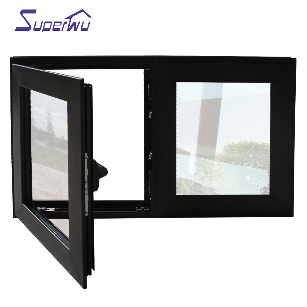 Superwu 2021Energy saving double glass window aluminium awning windows and doors