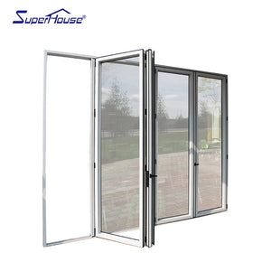 Superhouse 2021Canada standard luxury folding door with high heat-insulation performance