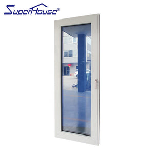 Superhouse 2021UK market thermal break system tilt turn windows