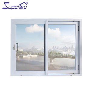 Superwu 2021Aluminium alloy fire rated sliding windows for residential
