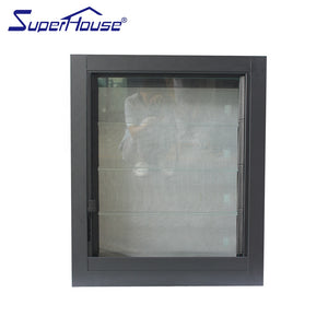 Superhouse 2021USA Canada market use glass louver with mosquito net