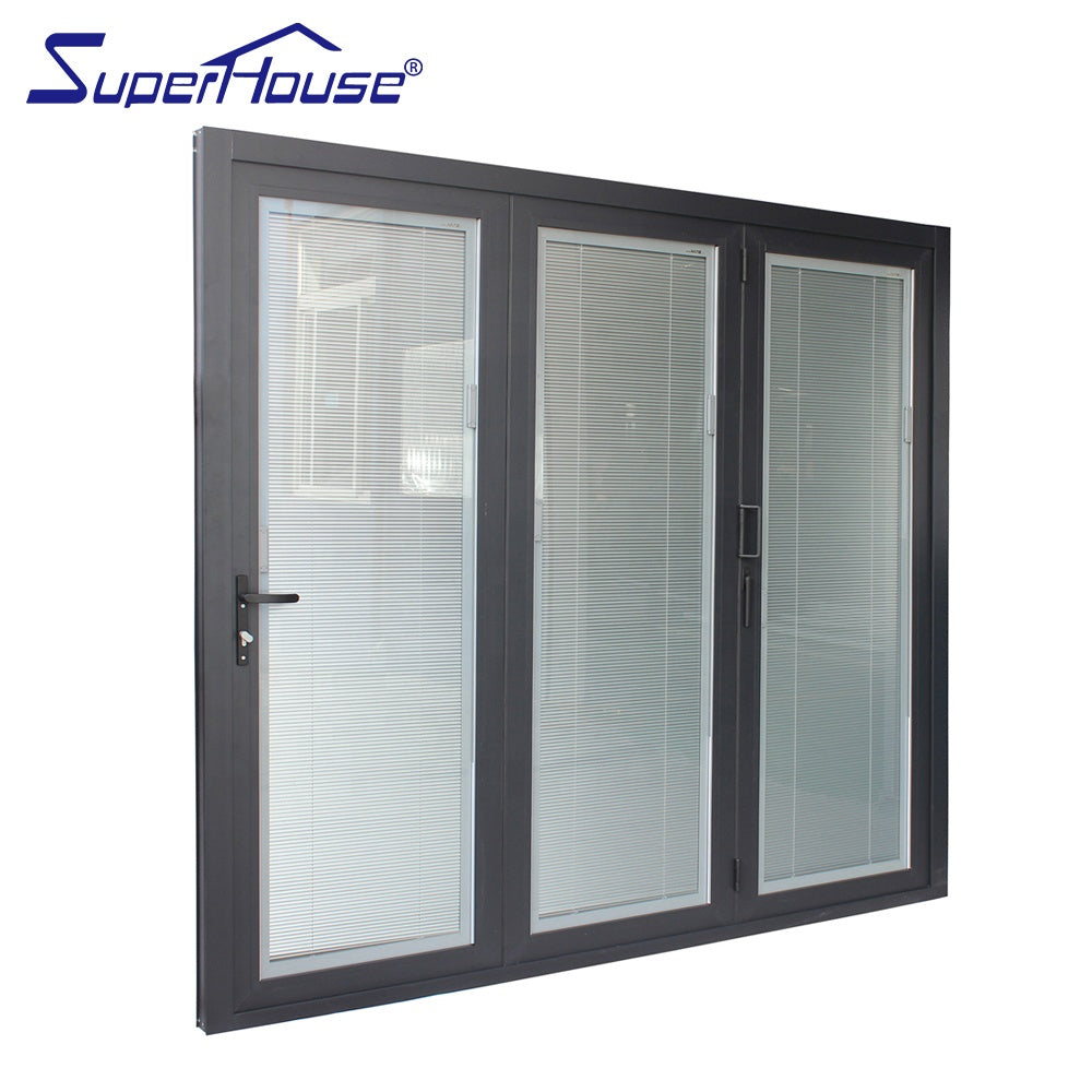 Superhouse 2021North American standard thermal break aluminum folding doors and windows