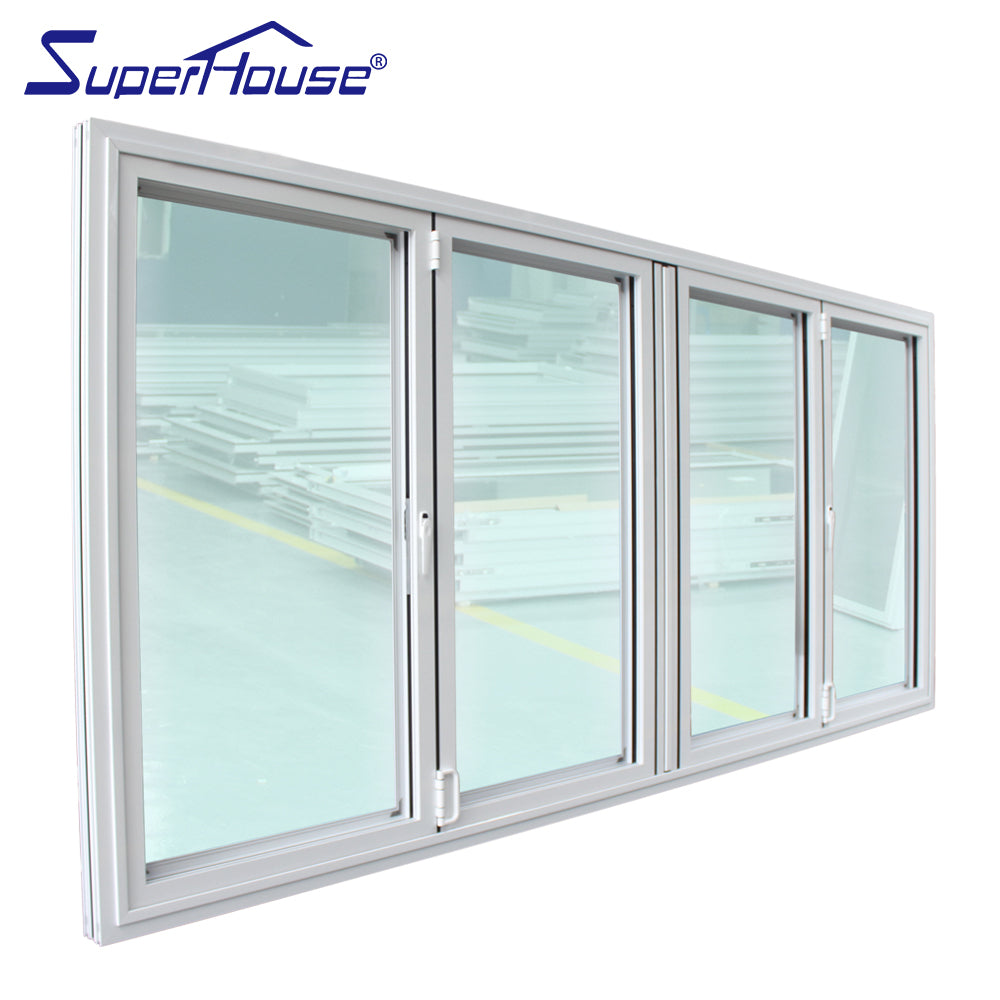 Superhouse 2021Miami-Dade Country Approved large size double glass aluminum profiles windows