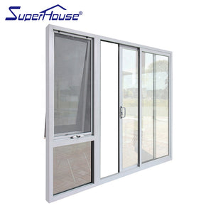 Superhouse 2021Commercial system aluminium doors with double glass