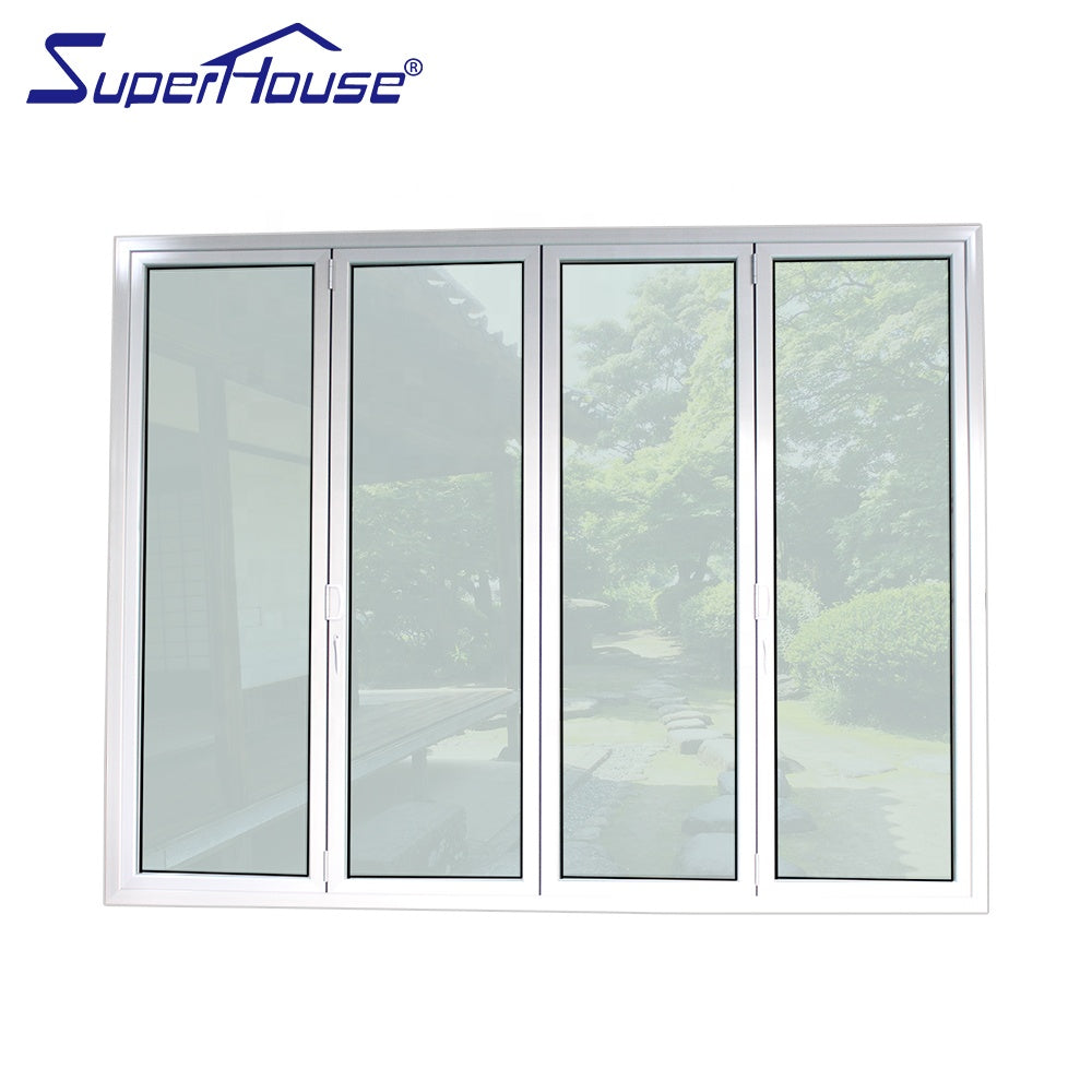 Superhouse 2021Canada market hot sale bi-fold doors for villa house