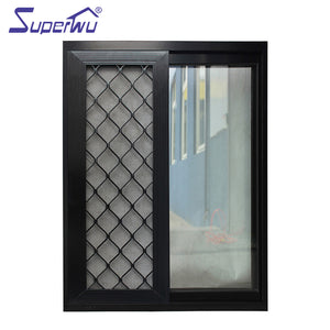 Superwu 2021Australia standard aluminum sliding window glass sliding window