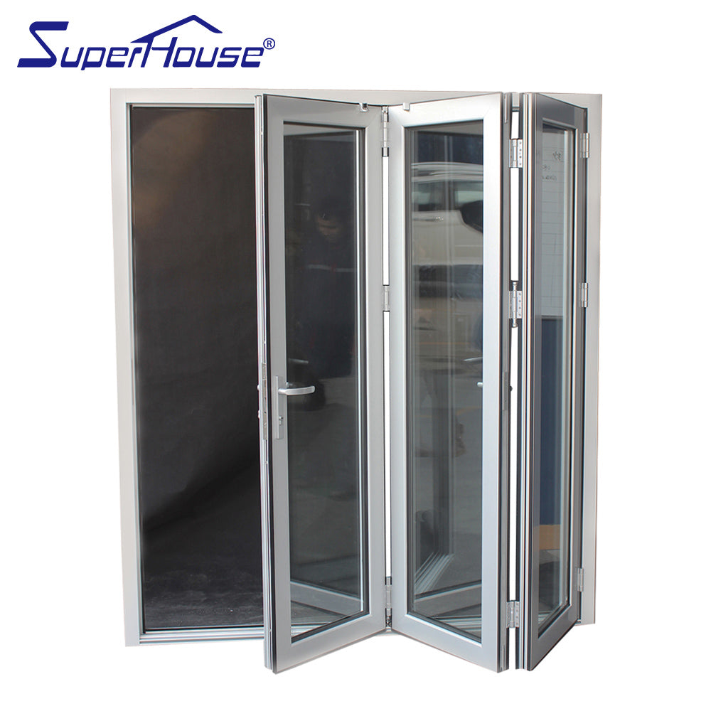 Superhouse 2021Florida approval bifold aluminium glass door miami