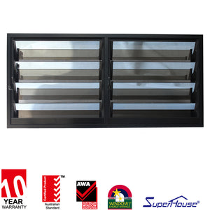 Superhouse 2021Australia standard high quality glass louver window made in China