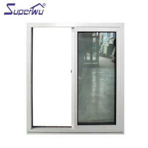 Superwu 2021impact proof Aluminium Windows Sliding Window with Inside Grill