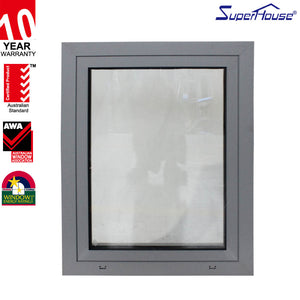 Superhouse 2021NFRC AS2047 Energy saving double glass tilt and turn windows aluminum with superhouse System
