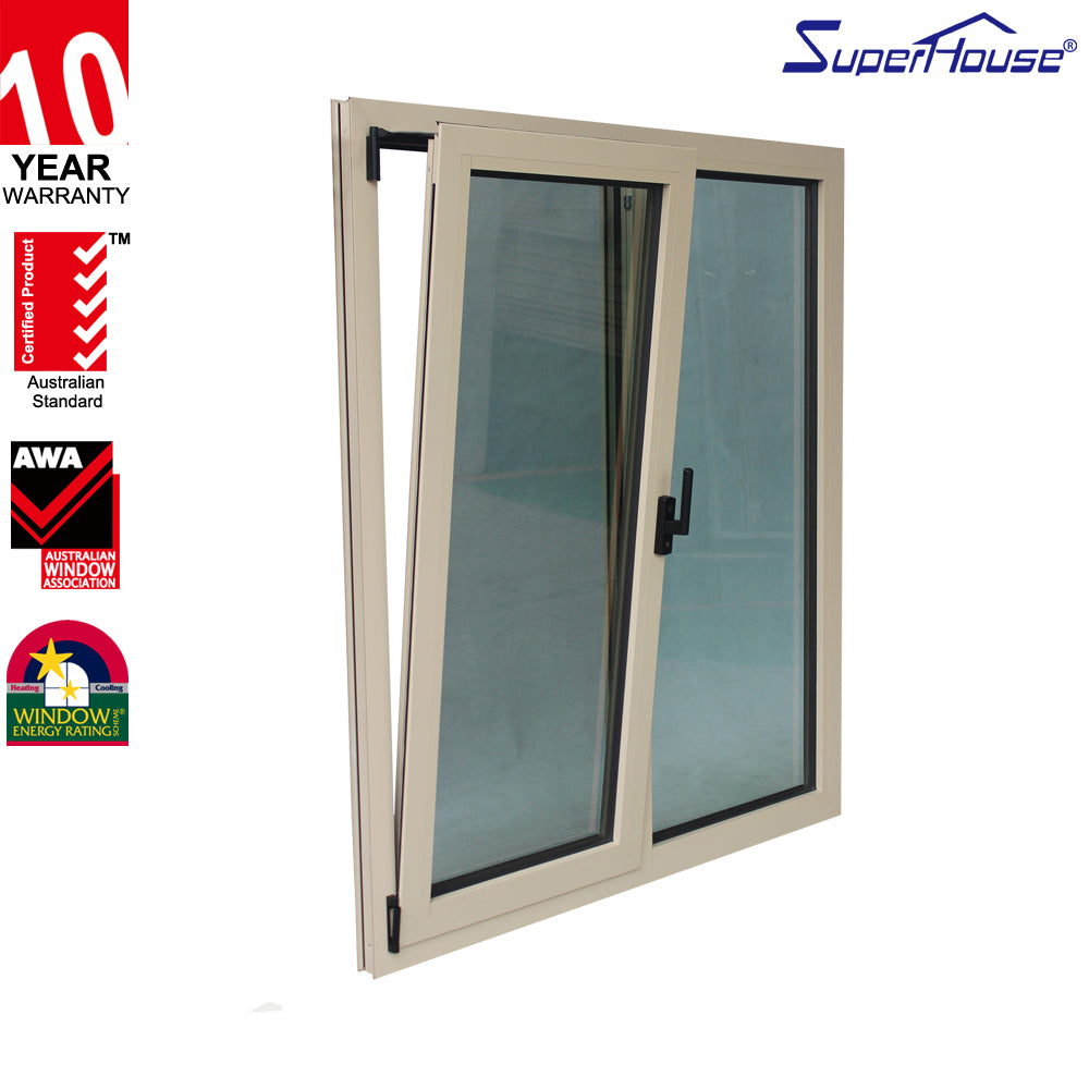 Superhouse 2021Aluminum models tilt and turn window and door