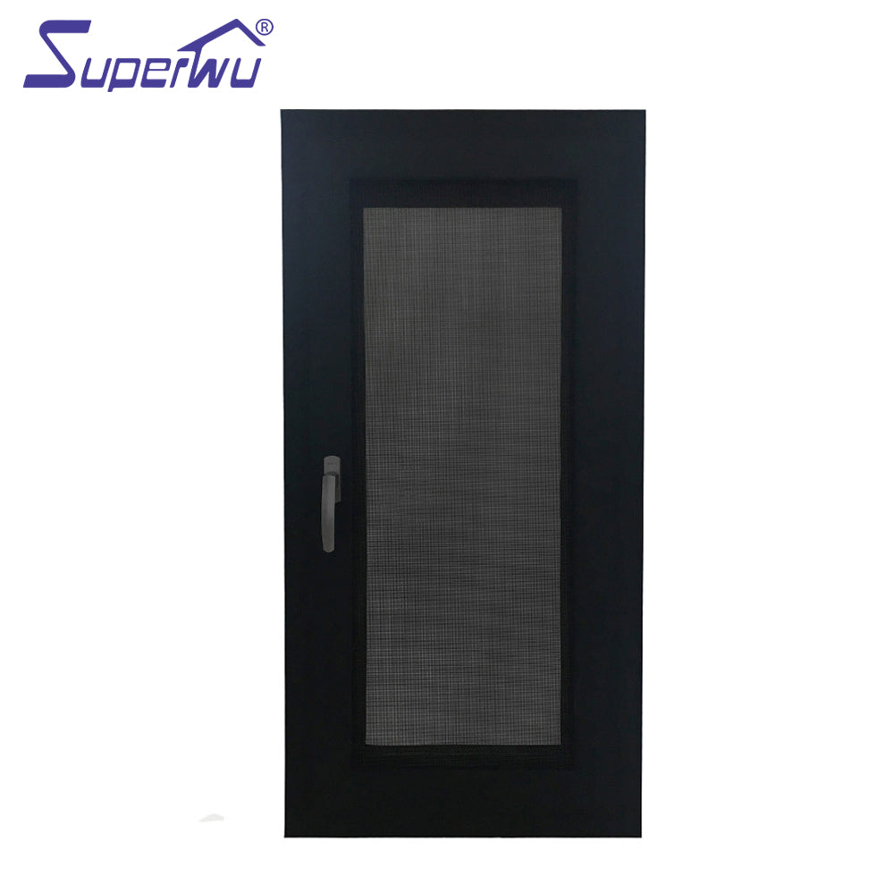 Superwu 2021Customized Size Double Glazed Aluminum Casement Windows Factory Prices more than 10 years warranty