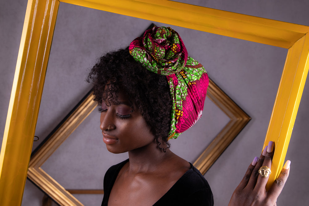 Tuto Gele redefined in senegalese headwrap Tagal
