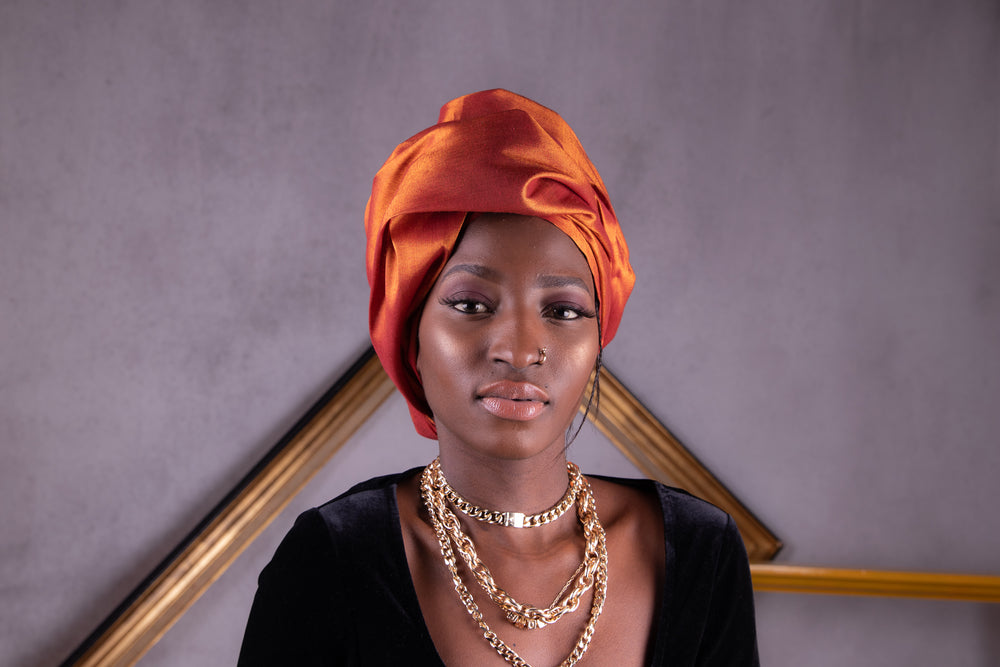 My Baol Baol heritage, my signature. Les Moussors de Awa modernize traditional senegalese headwrap refine it as aesthetics