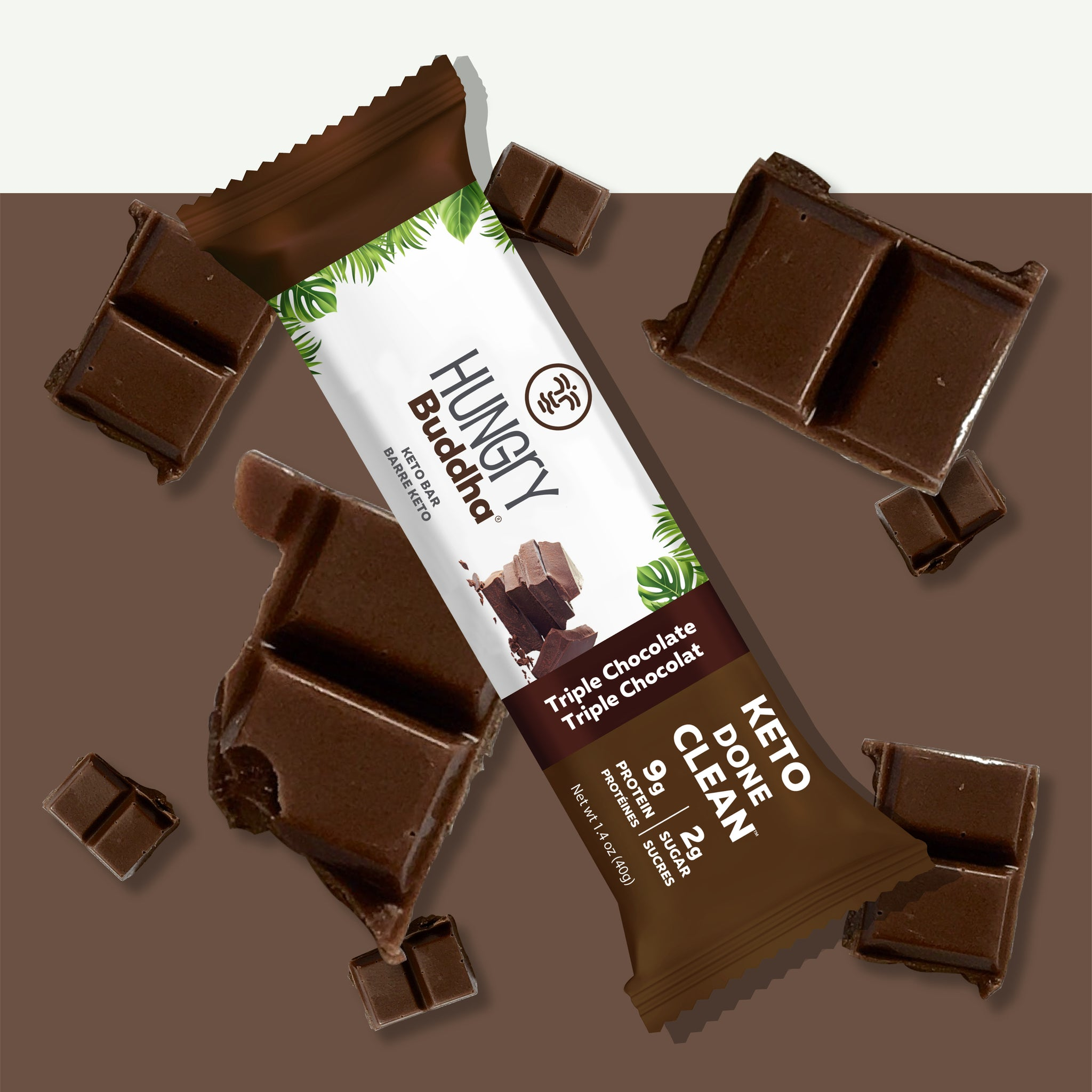 Triple Chocolate Bar