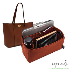 Mulberry Bayswater Tote Organizer Insert, Bag Organizer with Laptop Compartment and Pen Holder