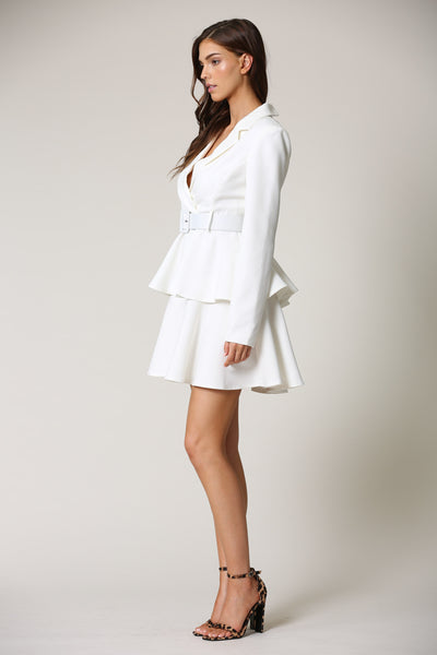 VESTIDO WAVES BLANCO ABIGAIL