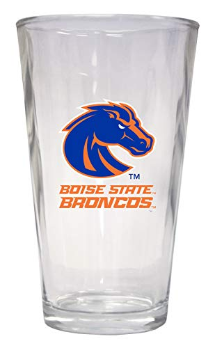 Boise State University Pint Glass 4 Pack